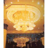 定制大型工程现代豪华楼梯水晶LED灯