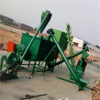 外贸专用猪饲料颗粒加工机组 一小时3吨麦麸玉米粉碎混合机泰丰产