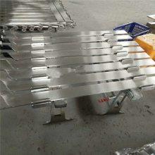 金聚进 现货 不锈钢双夹玻璃刀头栏杆 不锈钢空心管15*60立柱