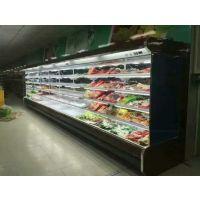 超市风幕柜 水果冷藏保鲜柜 豪华立风柜超市冷柜