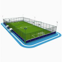 什么是笼式足球以及笼式足球场造价