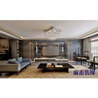 哈尔滨麻雀装饰公司-四季上东280㎡港式风格