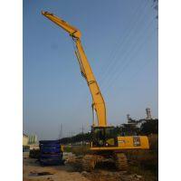 洪邦挖机打桩臂,专业挖掘机打桩设备,打桩效率高:13928395059