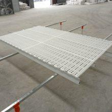 鸡用漏粪地板 塑料鸡掉粪板 铺鸡舍用塑料板方孔厂家