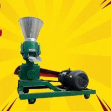颗粒饲料加工设备 带调制环模颗粒机 豆粕颗粒成型机