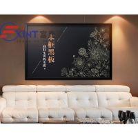 江门大号粉笔磁性玻璃黑板墙7台山钢化玻璃黑板7定制壁挂式黑板