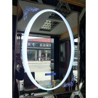 无框浴室背光镜 厂家直销led灯带镜卫生间镜子批发防雾镜子带灯镜