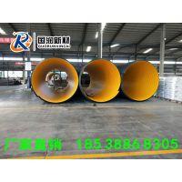 洛阳国润钢带增强PE螺旋波纹管施工