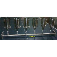 六联不锈钢溶液多联溶液过滤器薄膜过滤器 (不锈钢型,带泵和瓶