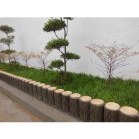 园林景观水泥护栏 公园仿木栅栏 厂家定做防护栏