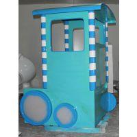 专业定制玻璃钢玩具火车外壳