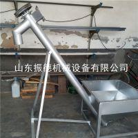 辽宁不锈钢全自动螺旋输送机 定做各种管径绞龙上料机 振德热销 圆管式吸粮机