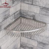 置物架 浴室304不锈钢置物网篮 卫生间收纳架三角篮 厂家直销GX-JG9030