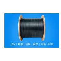 厂家直销 自承式皮线光纤 蝶形引入光缆2根钢丝1芯皮线光缆