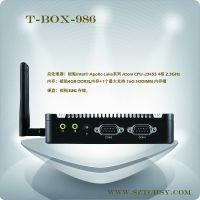 供应天承皓T-BOX-986高性能低功耗迷你电脑Mini主机智能云主机