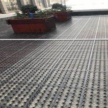 天津地下车库保护层排水板,塑料阻根夹层板