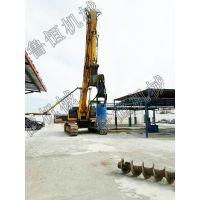 恒旺 挖改螺旋钻机 挖机改装潜孔钻机