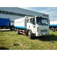 污水处理厂12立方污泥收集车-12吨污泥自卸车厂家价格及说明