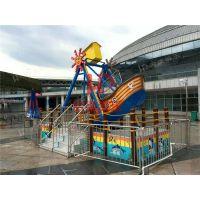 户外儿童游乐园惊险刺激热销海盗船游乐设备郑州宏德游乐定制