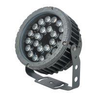 LED投光灯大功率户外彩色防水6W12W18W36W远程射灯