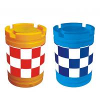 成都道路交通防撞设施 交通防撞桶 道路施工塑料防撞桶