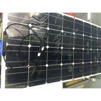 厂家直销 jjhxt太阳能电池板 JH-100高效柔性太阳能发电板