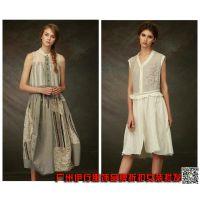 达衣岩18时尚棉麻女装品牌折扣尾货女装专柜正品货源低价批发