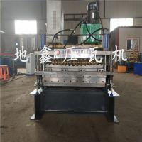 彩钢瓦机器直销双层导柱压瓦机水波纹地鑫