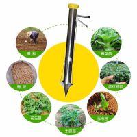 小型辣椒移栽机 手动蔬菜苗秒栽机 地膜打孔栽苗器