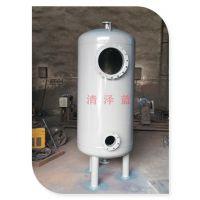 广东水处理立式A3碳钢机械过滤罐 QZL高效大流量纤维球自动清洗过滤器 尽在清泽蓝厂家直销