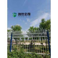厂家直销厂房用的双弧型锌钢栅栏小院围墙护栏