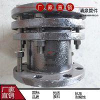 国标法兰伸缩器 套管伸缩甲 柔性排水铸铁管厂家