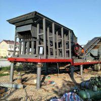 六安级配砂石流动碎石设备 滁州商混搅拌站用骨料破碎车