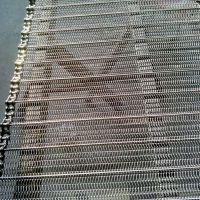 定做不锈钢高温网带 不粘锅链条式传送带 输送机械网带厂家