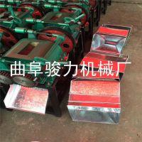 小型电动高粱破碎机 黄豆压扁机 骏力厂家直销 五谷杂粮破碎机