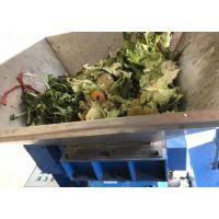 城市生活垃圾压榨脱水机 3吨破碎压榨机价格 新型环保处理成套设备山东思路机械