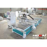 皓凯机械 木工雕刻机1325四工序开料机生产厂家多工序板式家具雕刻机