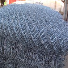 勾花网规格 手工编织勾花网 羽毛球场地围栏