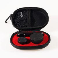 猎奇LQ-019半套夹Iphone6/6P专用手机镜头,0.4X超级广角+10X微距+180度鱼眼