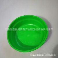 厂家批发 软饵盆 拌饵碗 和饵 软橡胶盆 饵料碗 垂钓用品