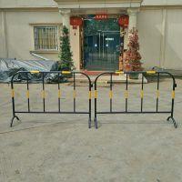 道路施工铁马护栏 移动铁马护栏 厂家定制热镀锌喷塑铁马护栏