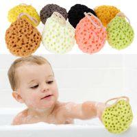 厂家直销亲水性沐浴棉 儿童婴儿沐浴擦 洗澡搓 洗浴球 婴儿浴擦