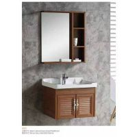厂家直销新款太空铝浴室 加厚柜体配镜柜全套 8501