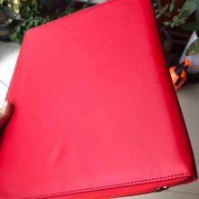 西安工作证 真皮烫金证件夹定制 设计加工皮面证件箱包卡包
