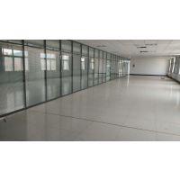 淄博办公室双玻百叶玻璃隔断 单层磨砂玻璃隔断