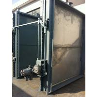 供应脱硫防腐挡板门 1200*2000百叶窗入口隔绝门 材质齐全 按图纸加工