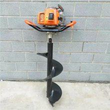 车载式旋坑打窝机 土地挖坑机型号 手推好移动挖穴机