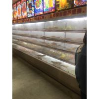 【水果保鲜柜哪个牌子好】郑州专业定做水果风幕柜哪个厂家好