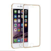 苹果5与6和7曲面3D效果的钛合金小边钢化玻璃膜多色供应厂家直销