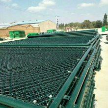 百瑞球场围网防护网 体育场护栏网 浸塑运动场地围网